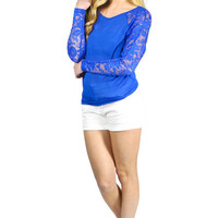 Blue Crush Top
