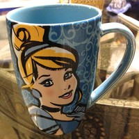 Disney Parks Cinderella Face Mug NEW