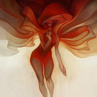 """Wrapped"" - Art Print by Lois Van Baarle"