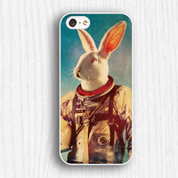 rabbit astronaut iphone 4 cases, iphone 5ccases, iphone 5 cases,iphone 5s cases,iphone 4s cases,best chosen gifts 190