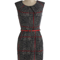 Cross the Byline Dress | Mod Retro Vintage Dresses | ModCloth.com