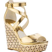 Michael Kors Gabriella Monogram Wedge