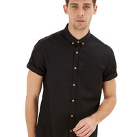 Black Plain Shirt - Mens Offers - Sale & Offers