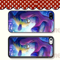 little mermaid, iPhone 5 case iPhone 5c case iPhone 5s case iPhone 4 case iPhone 4s case, Samsung Galaxy S3 \S4 Case--X51116