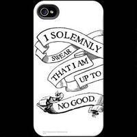 Harry Potter Solemnly Swear White Phone Case for iPhone and Galaxy | WBshop.com | Warner Bros.