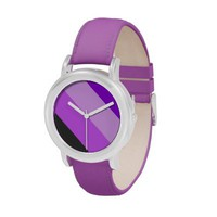 Tropical #5 - Purple Wrist Watch