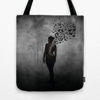 The Butterfly Transformation Tote Bag by Nicklas Gustafsson