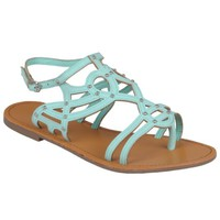 Brinley Co Womens Strappy Gladiator Sandals