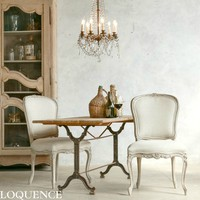 Eloquence Colette Dining Chair Beach House Natural