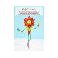 "Glitterville ""Polly Poinsettia"" Large Ornament"