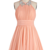 Peach to Meet You Dress | Mod Retro Vintage Dresses | ModCloth.com