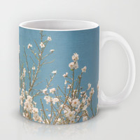 Reaching for Spring Mug by Lisa Argyropoulos
