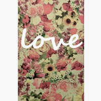 Coque iPhone Love Flores by Nika Martinez | Art Shop | Wooop.fr