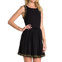 Ladakh Gala Crepe Dress in Black from REVOLVEclothing.com
