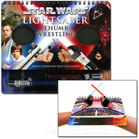 STAR WARS LIGHTSABER THUMB WRESTLING BOOK