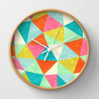 Movement Wall Clock by Jacqueline Maldonado