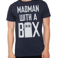 Doctor Who Madman With A Box Slim-Fit T-Shirt