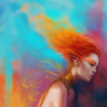 Broken Flame by `thienbao on deviantART