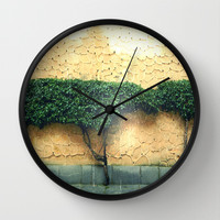 Simplicity at its finest Wall Clock by Kelli Schneider