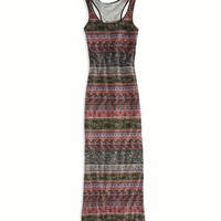 AE PRINTED MAXI TANK DRESS