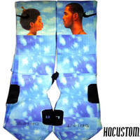 Drake NWTS Custom Nike Elite Socks ALL SIZES!!