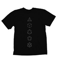 OCCULTER - Platonic Solids T-Shirt by Occulter