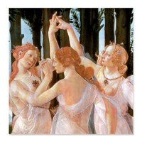 La Primavera - The Three Graces> Shower Curtains> Beautiful Homes