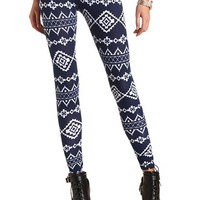 Cotton Aztec Printed Leggings