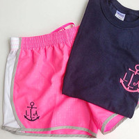 Custom Monogrammed Running Set- Womens