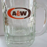 A&W Glass Mug 8 oz | yoowhos - Collectibles on ArtFire