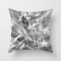 Assault of the God's Throw Pillow by RichCaspian