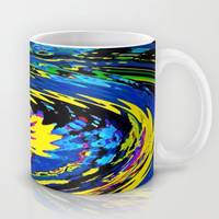 Cosmic Schizophrenia Mug by Fringeman Abstracts