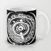 The Eye Mechanic Mug by Fringeman Abstracts