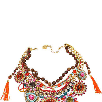 ST BARTS WIDE FRONTAL NECKLACE