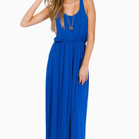 Driving Racerback Maxi Dress $40