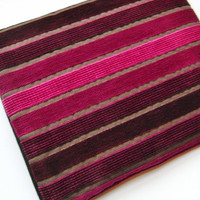 ipad Case / ipad Cover / Kindle DX Velvet Stripe Pouch Sleeve