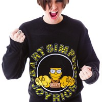 Bad Boy Bart Knit Crew