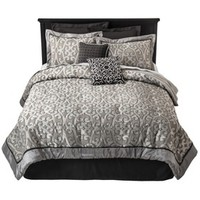 Fashion 8 Piece Ironwork Cement Comforter