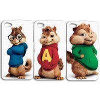 Disney iPhone Case Cute Best Friends Case Chipmunk iPod Case Funny iPhone Cover iPhone 4 iPhone 5 iPhone 4s iPhone 5s iPod 4 iPod 5 Case