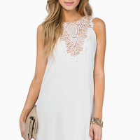 Carried Away Crochet Dress $35