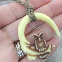 Owl and Talon Necklace