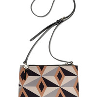 Handbags | Crossbodies | Sam Diamond Print Crossbody Bag | Lord and Taylor
