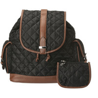Franco Sarto Collins Nylon Backpack