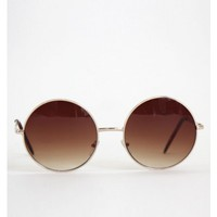 Vintage Circle Sunglasses