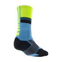 The Nike Hyperelite Fanatical Crew Basketball Socks.