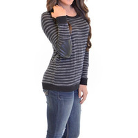 Closet Candy Boutique · Patch Job Sweater - Black
