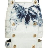 ANTHONY VACCARELLO | Bleached Denim Miniskirt | Browns fashion & designer clothes & clothing