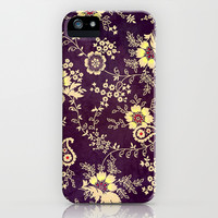 VINTAGE FLOWERS VIII - for iphone iPhone & iPod Case by Simone Morana Cyla