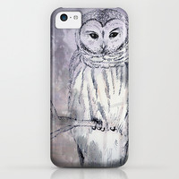 owl iPhone & iPod Case by Marianna Tankelevich