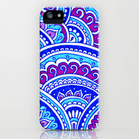 Winter Sky iPhone & iPod Case by PeriwinklePeacoat